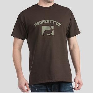 Property of my rabbit Dark T-Shirt