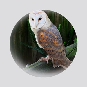 Owl4 Round Ornament