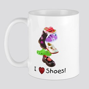 Little Girls love shoes too Mug