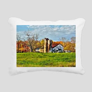 sunrise farm UPDATED Rectangular Canvas Pillow