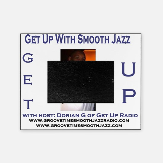 get up radio template smooth jazz Picture Frame