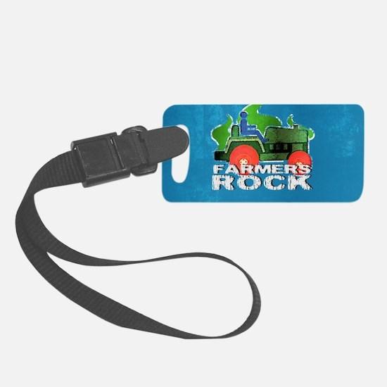 miniFarmersRock Luggage Tag