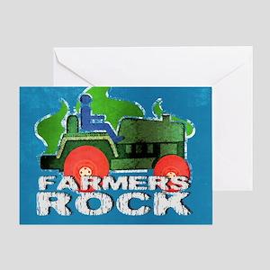 toiletryFarmersRock Greeting Card