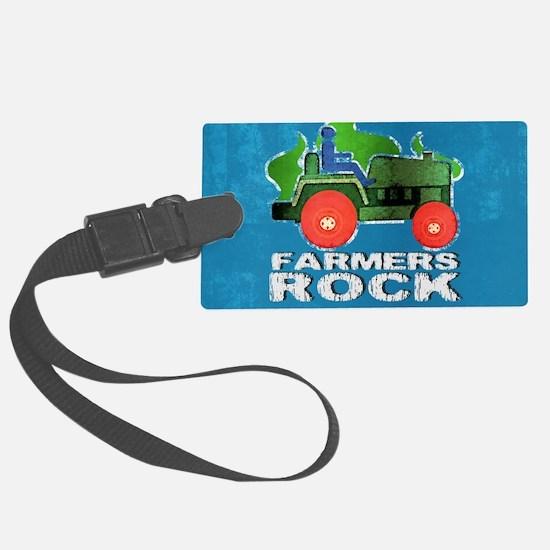 shoulderFarmersRock Luggage Tag