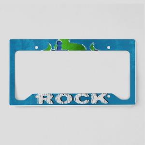 shoulderFarmersRock License Plate Holder