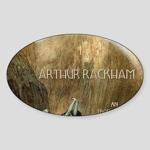 rackhamcovernodate Sticker (Oval)
