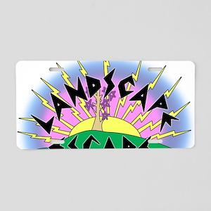 landscapeescape Aluminum License Plate