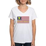 Buccaneer American Women's V-Neck T-Shirt