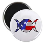 One Nation Wiccan Magnet