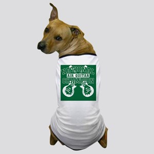 guitargreen copy Dog T-Shirt