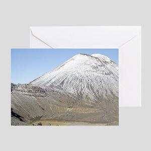 New Zealand. The Tongariro Crossing  Greeting Card