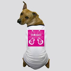 guitarpink copy Dog T-Shirt