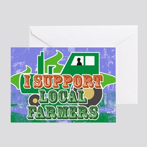 shoulderSupportLocal Greeting Card