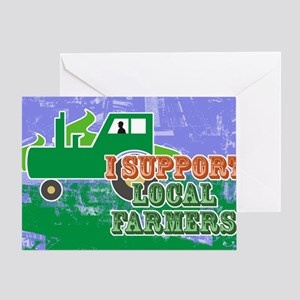 toiletrySupportLocal Greeting Card