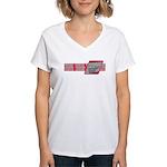International Fencing Women's V-Neck T-Shirt
