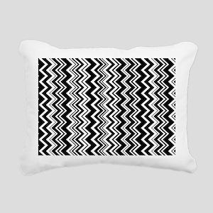 zig-zag_07 Rectangular Canvas Pillow