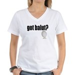 got balut? Women's V-Neck T-Shirt