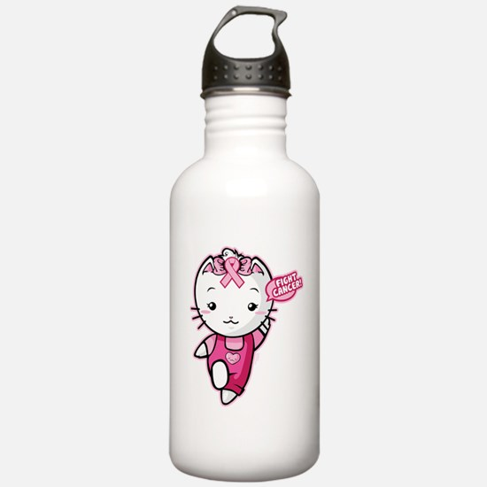 12_SunnyLuvFightCancer Water Bottle