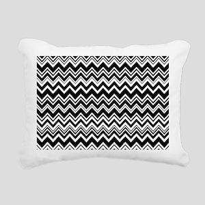 zig-zag_04 Rectangular Canvas Pillow