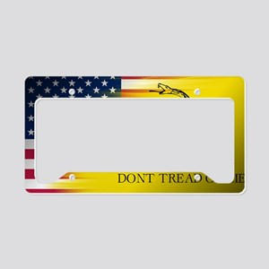 Gadsten flag merged with U.S. License Plate Holder