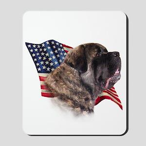 Fluffy Flag Mousepad