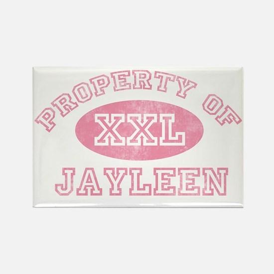 Property-of-Jayleen Rectangle Magnet