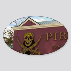 Nassau: Pirates of Nassau Museum Sticker (Oval)