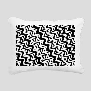 zig-zag_08 Rectangular Canvas Pillow