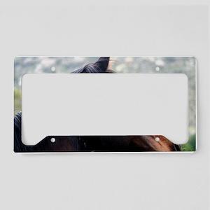 Horse Head License Plate Holder