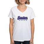 Fencing Sport Women's V-Neck T-Shirt