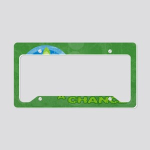 toiletryPeas License Plate Holder