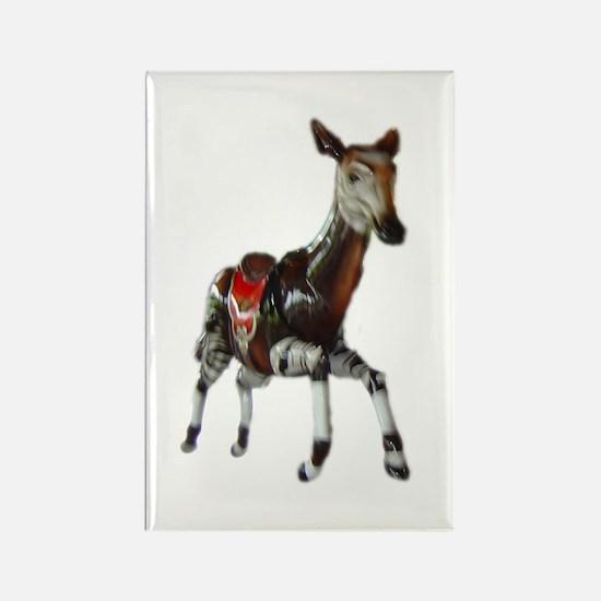 carousel okapi Rectangle Magnet