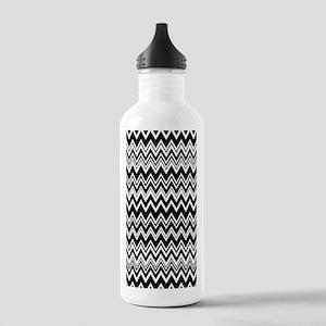 441_zig-zag_06 Stainless Water Bottle 1.0L