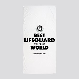 The Best in the World – Lifeguard Beach Towel
