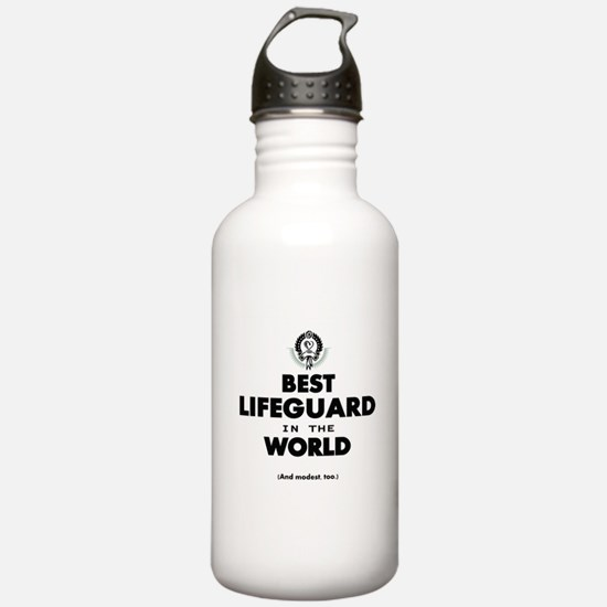 The Best in the World – Lifeguard Water Bottle