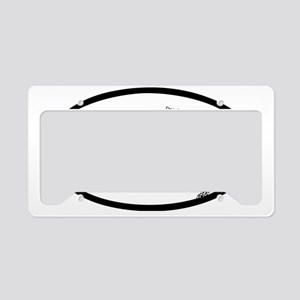 Oval_MTB License Plate Holder