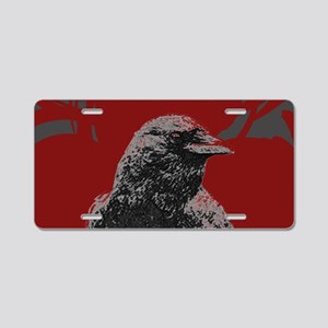 clutchCrow Aluminum License Plate