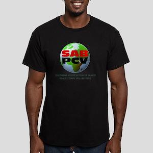 SAB PCV use Men's Fitted T-Shirt (dark)