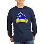Sweden Long Sleeve Dark T-Shirt