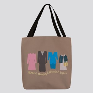 Golden Girls Outfits Polyester Tote Bag