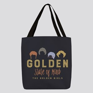 Golden Girls State Of Mind Polyester Tote Bag