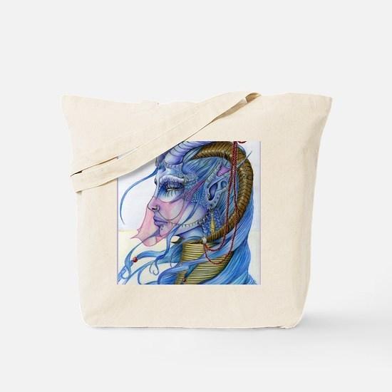 Amethystlarge Tote Bag