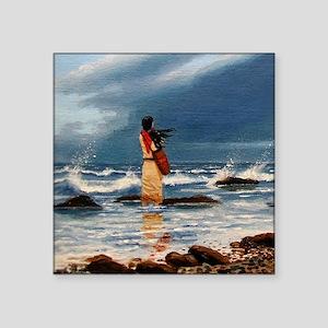 "beachcomber-jewell Square Sticker 3"" x 3"""