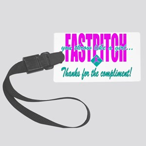 fastpitch Large Luggage Tag