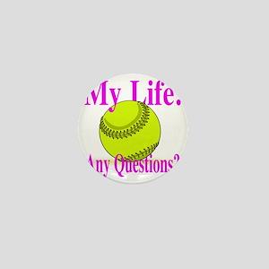 my life Mini Button