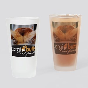 corgibuttscover Drinking Glass