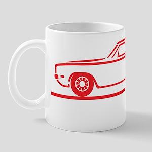 68 69 Charger red Mug