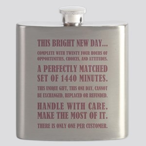 THIS BRIGHT NEW DAY... Flask