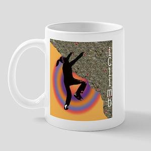 Young Climber Orange Mug