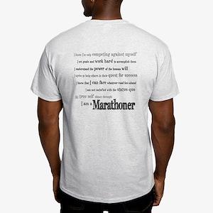 I Am a Marathoner Light T-Shirt